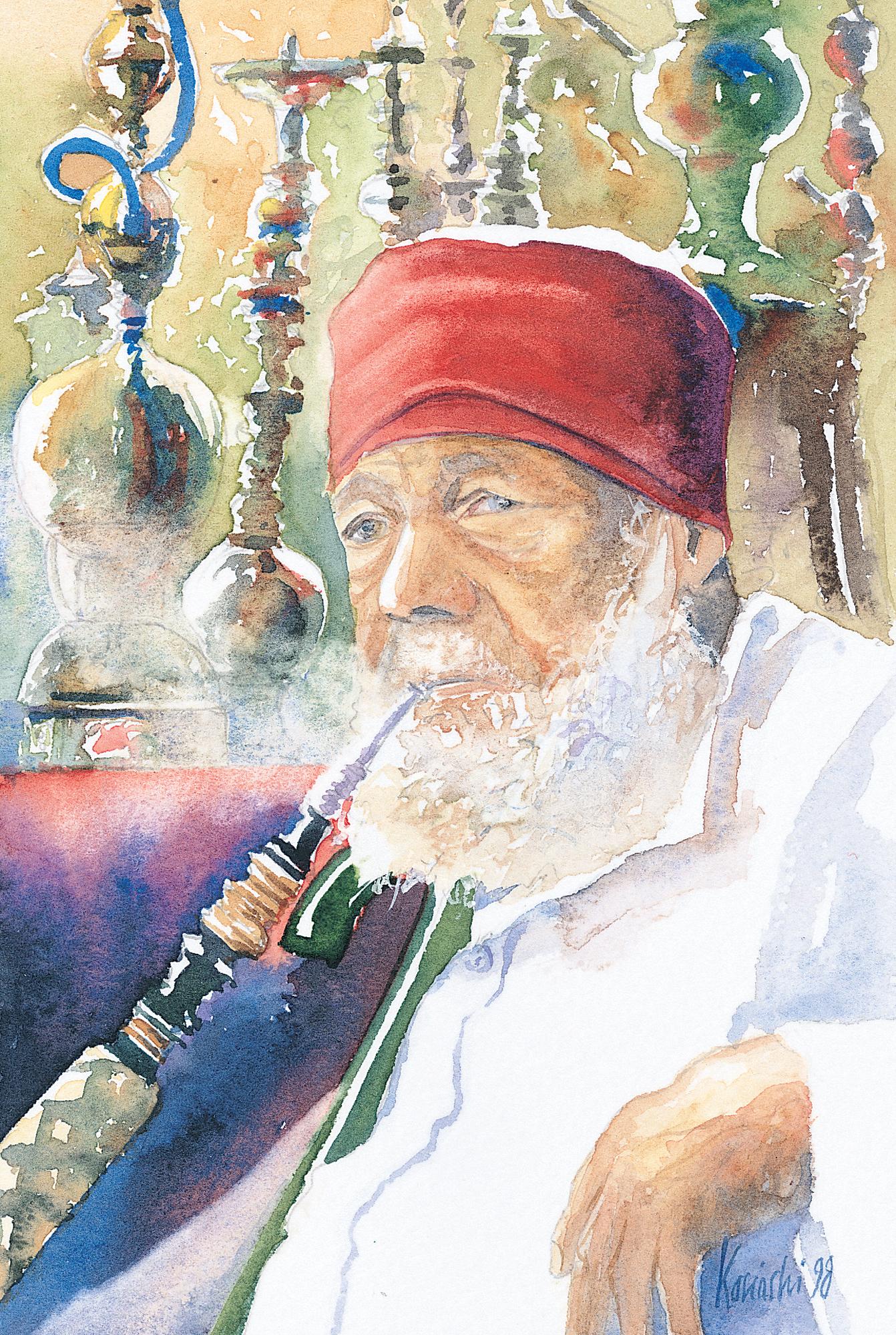 Old  Smoker, Khan Khalilee, Cairo