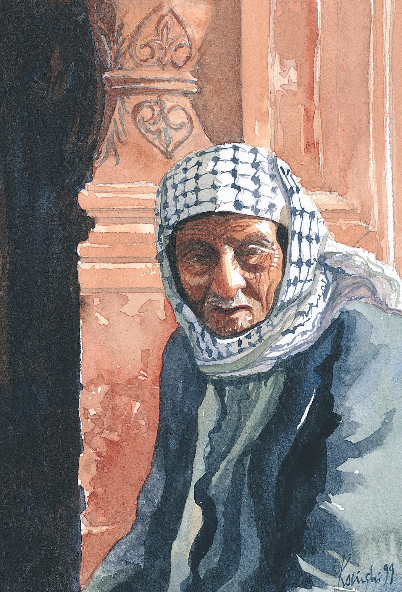 Palestinian, Haram al-Sharif, Jerusalem