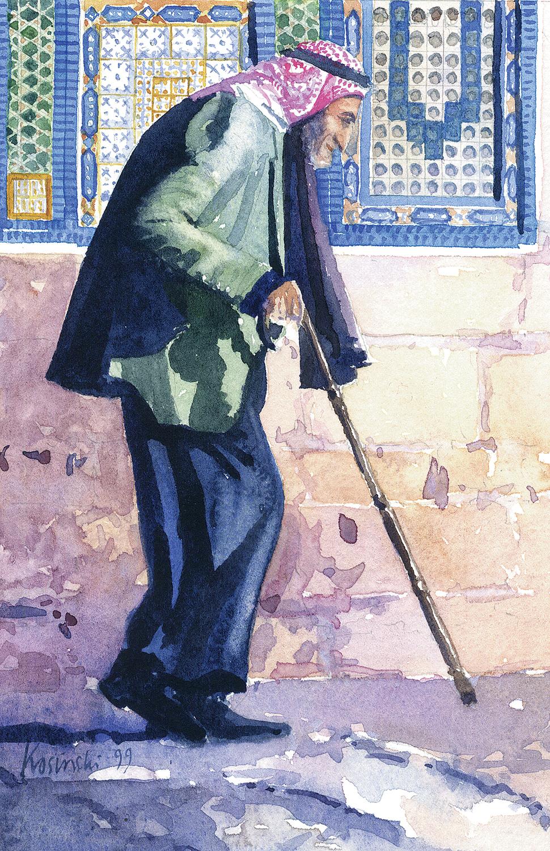 Old Man, Haram, Jerusalem