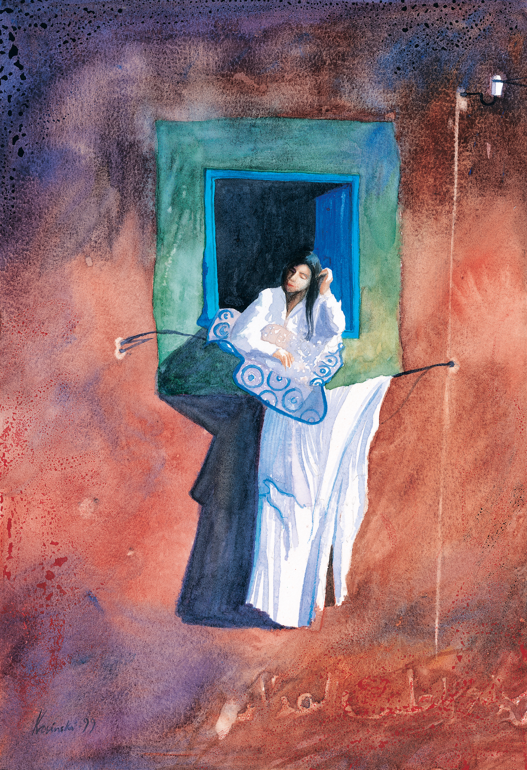 Girl at the Window, Luxor