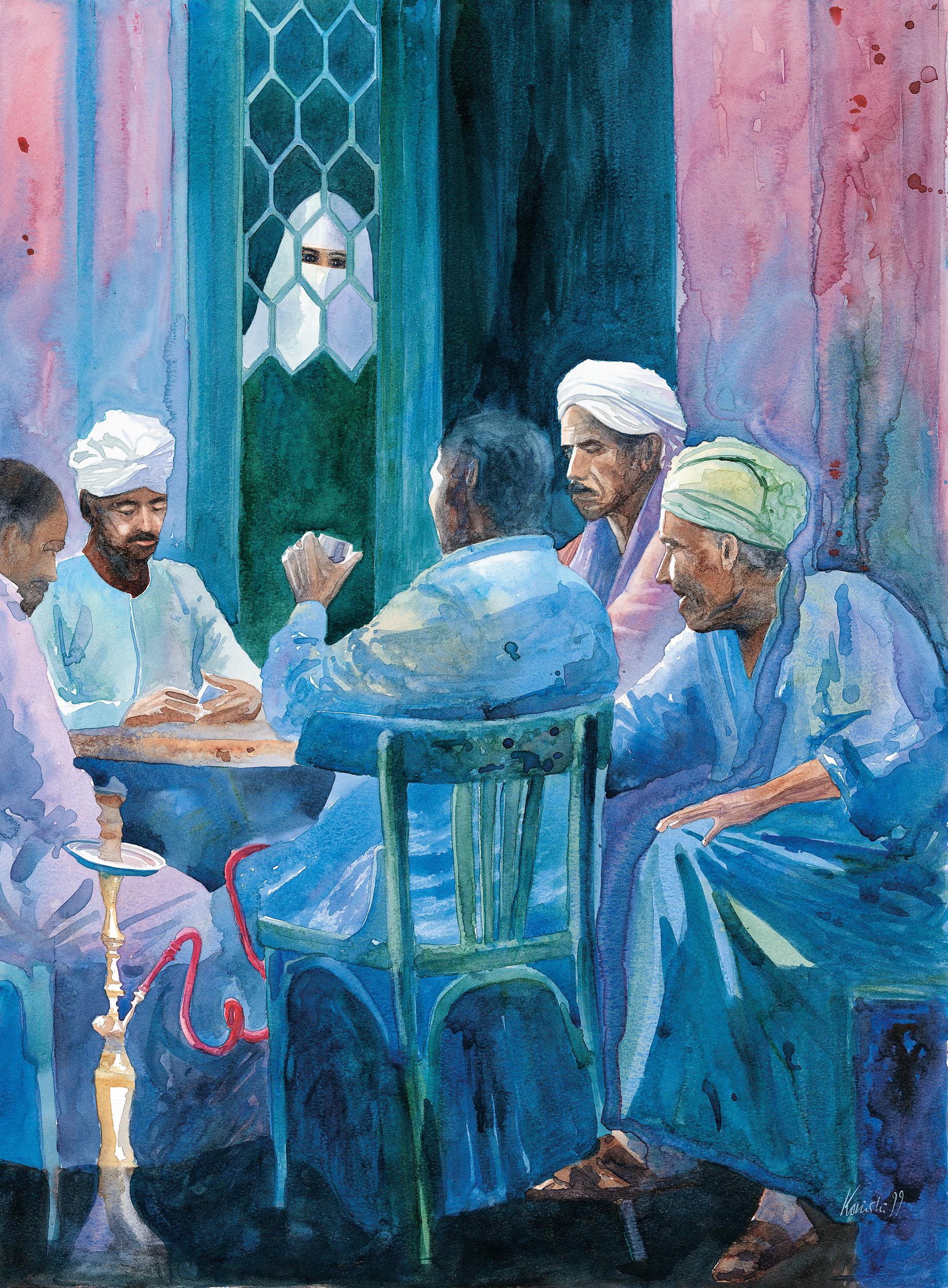 Domino Players, Aswan