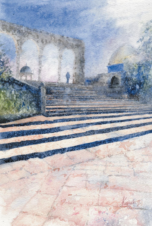 Steps on the Haram al-Sharif
