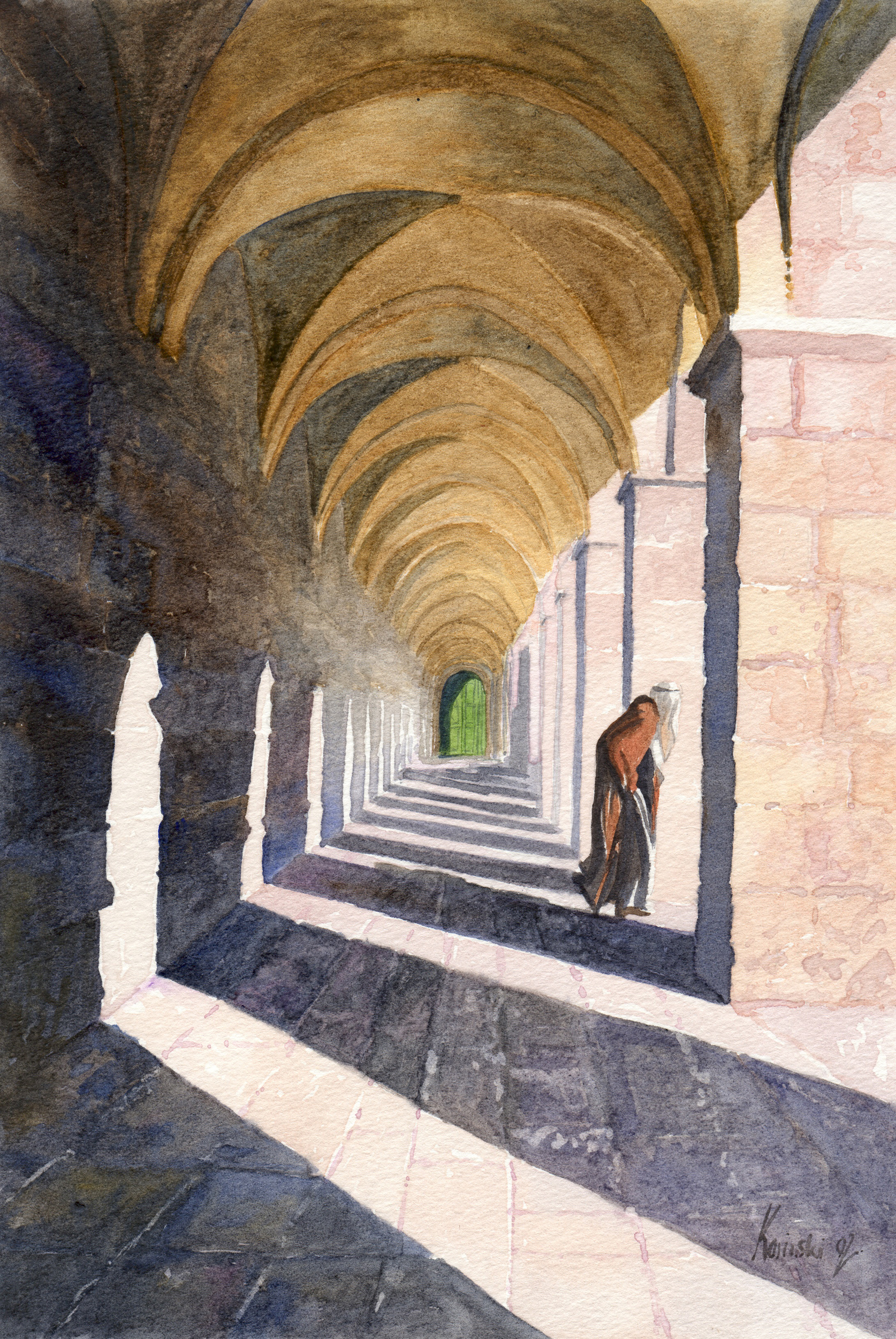 Portico over the Western Wall, Jerusalem