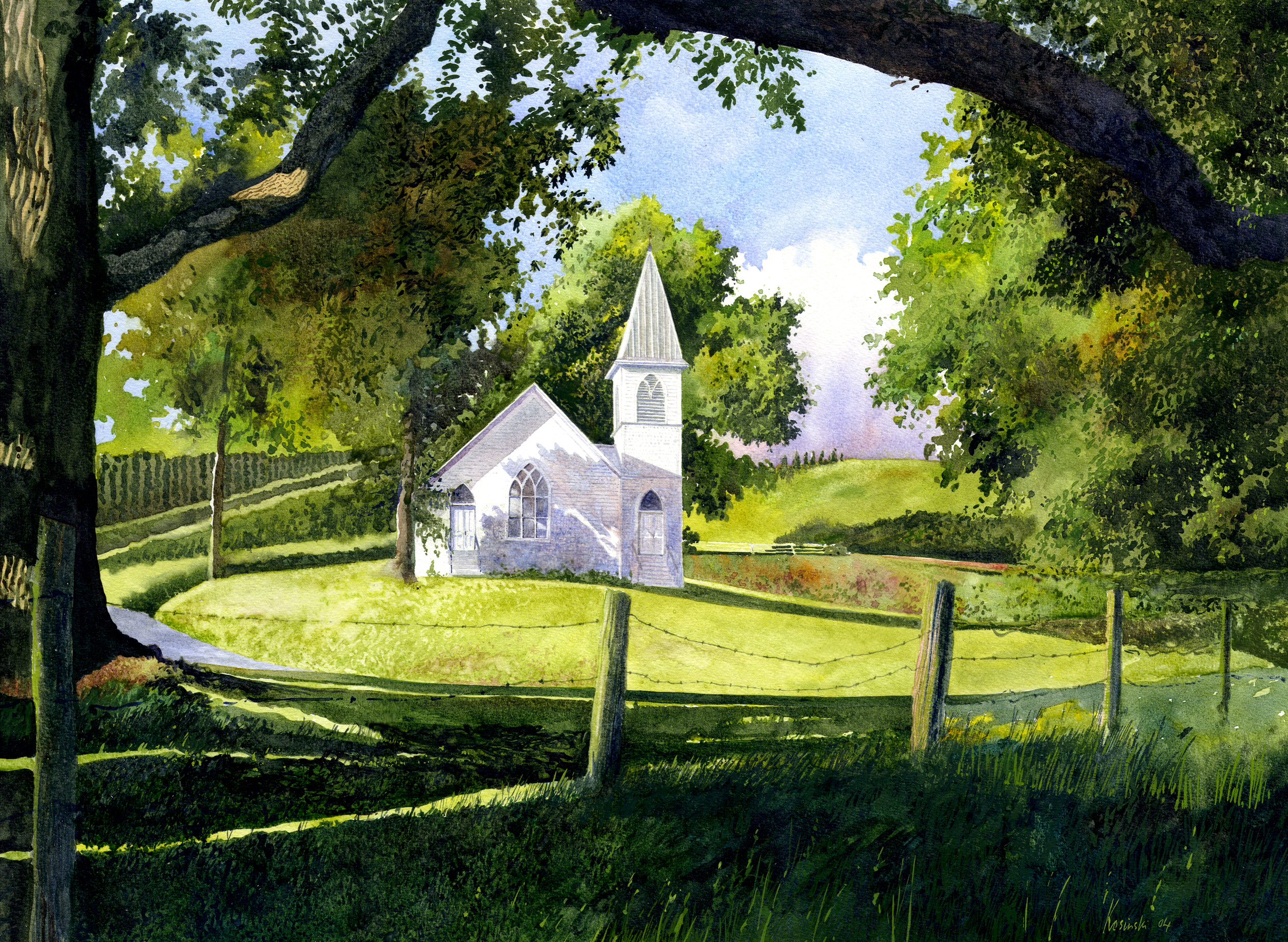 Grassy Creek Methodist Church, NC