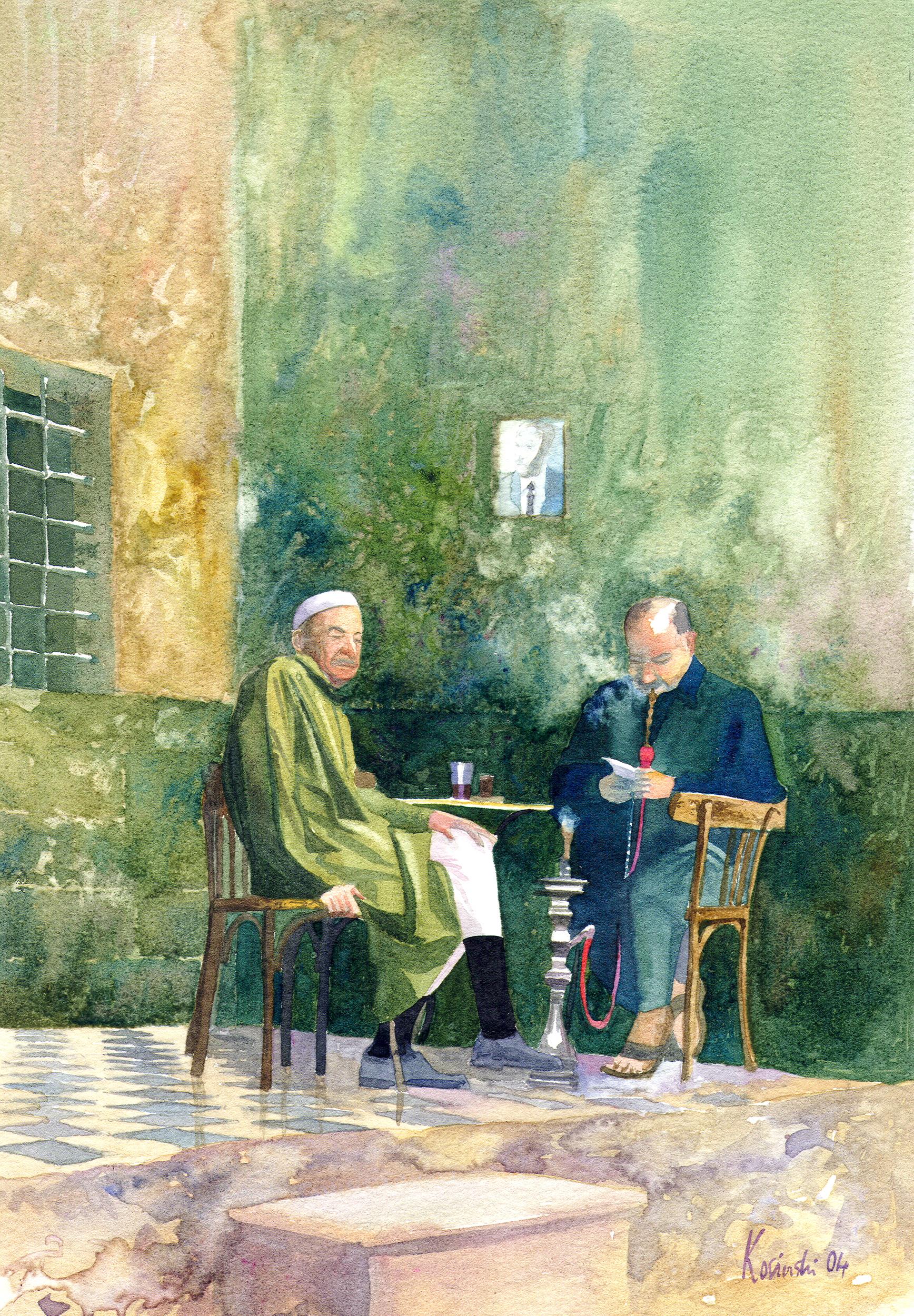 Café in Damascus