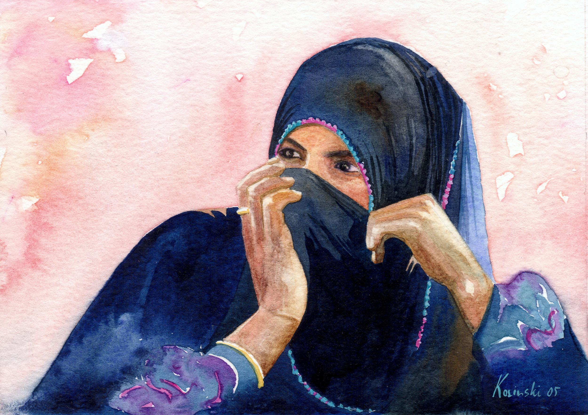 Bedouin Girl, Sinai