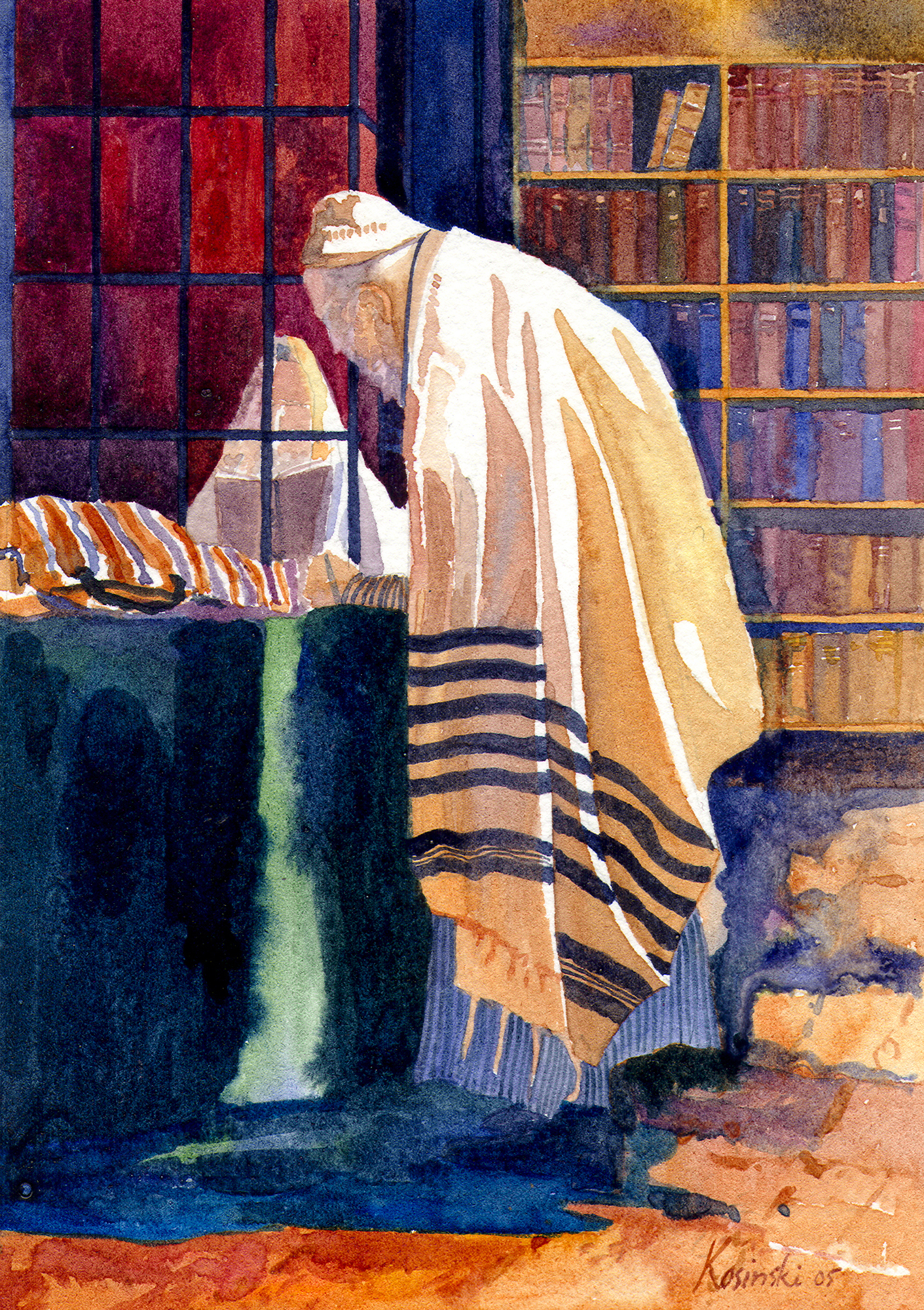 Old Rabbi, Jerusalem