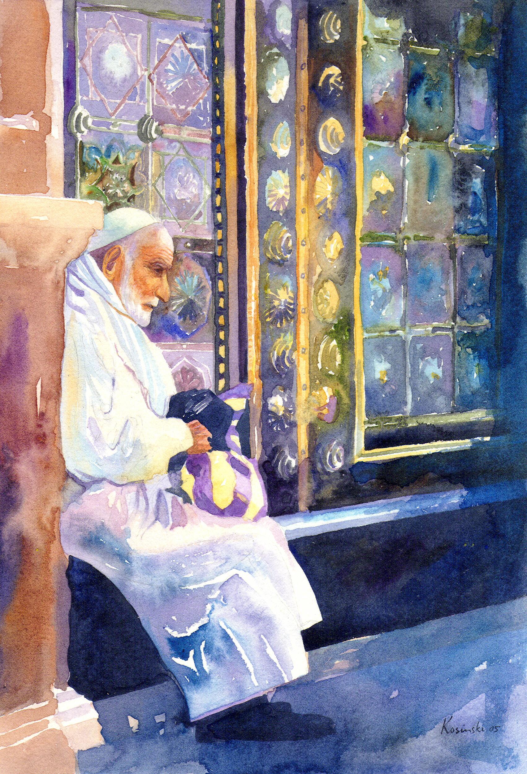 Old Man, Damascus