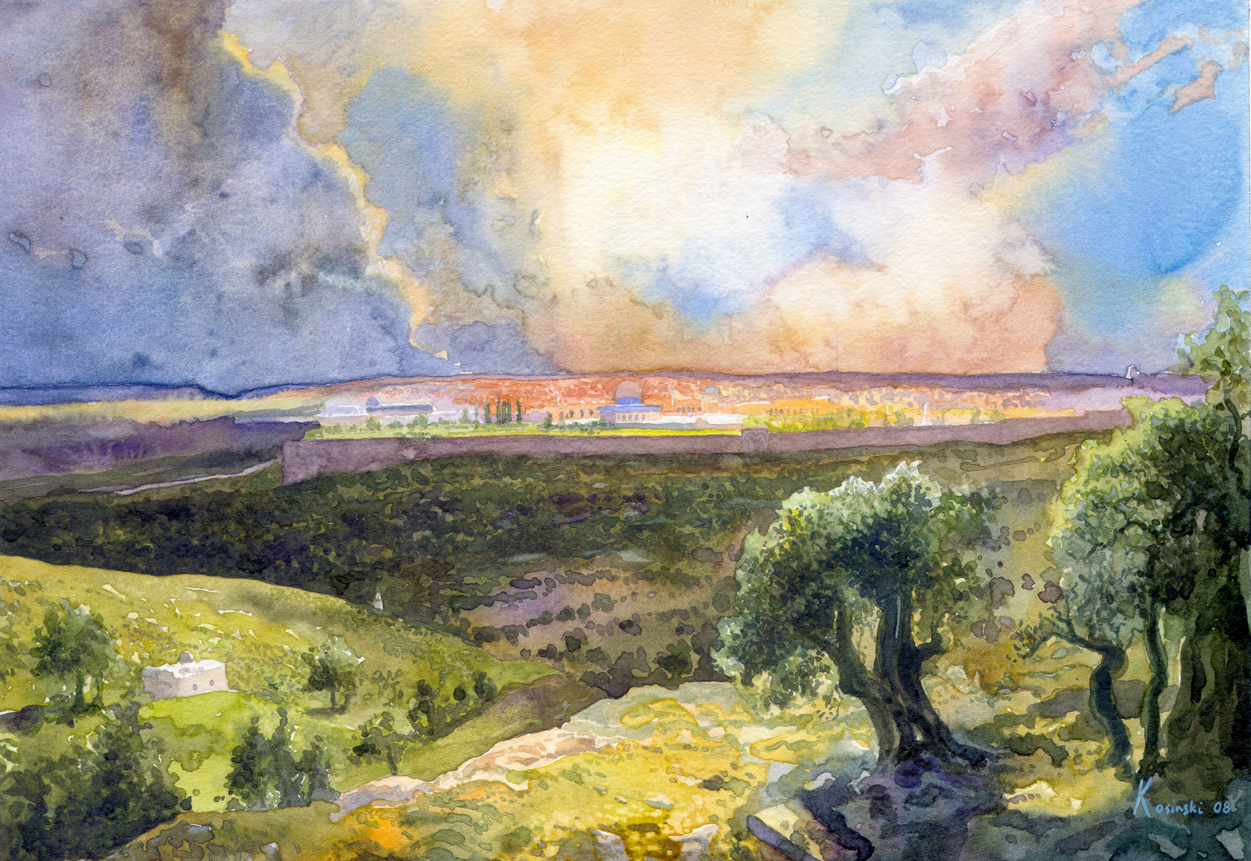 Jerusalem from Mount of Olives