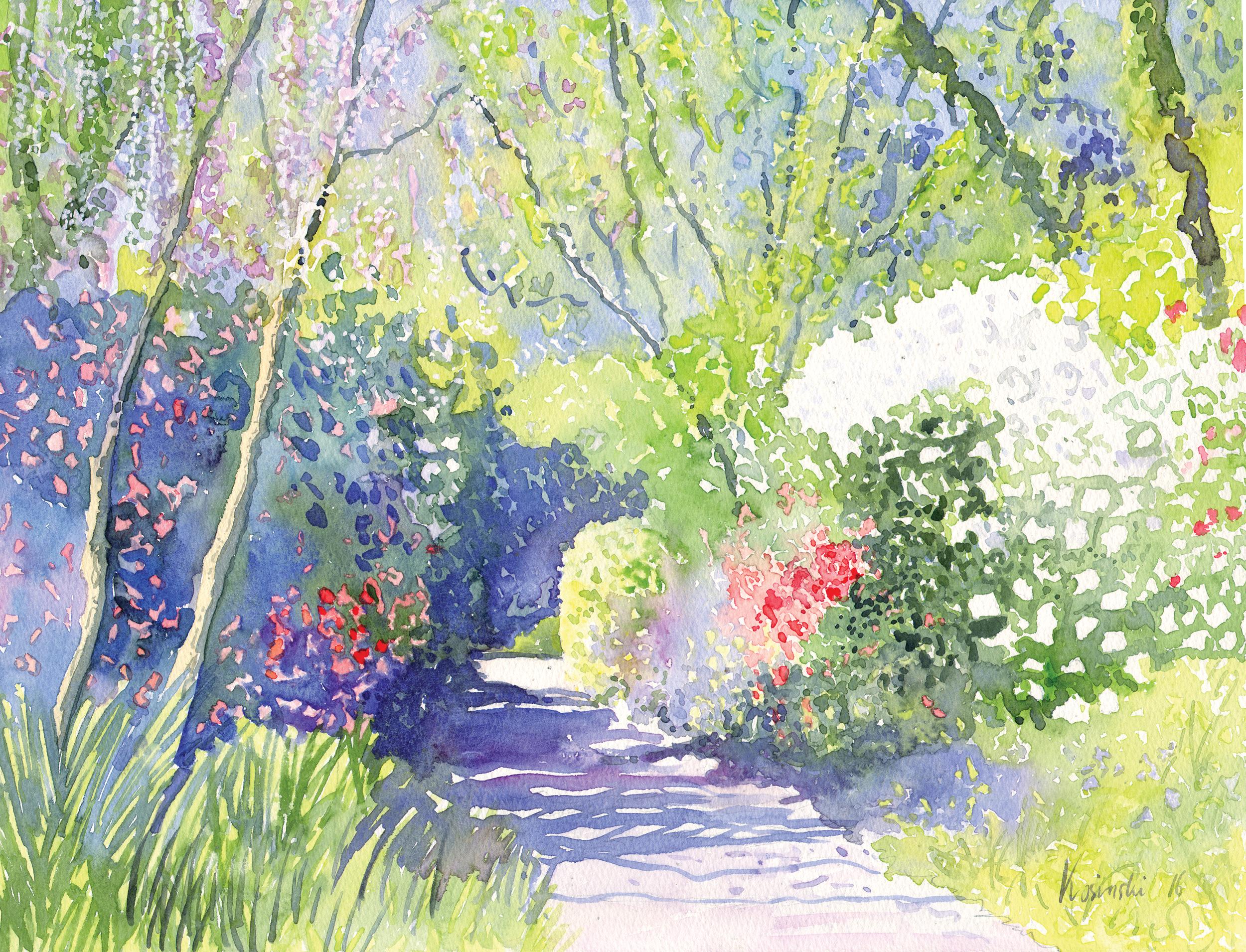 Garden Path, Brookgreen Gardens, SC