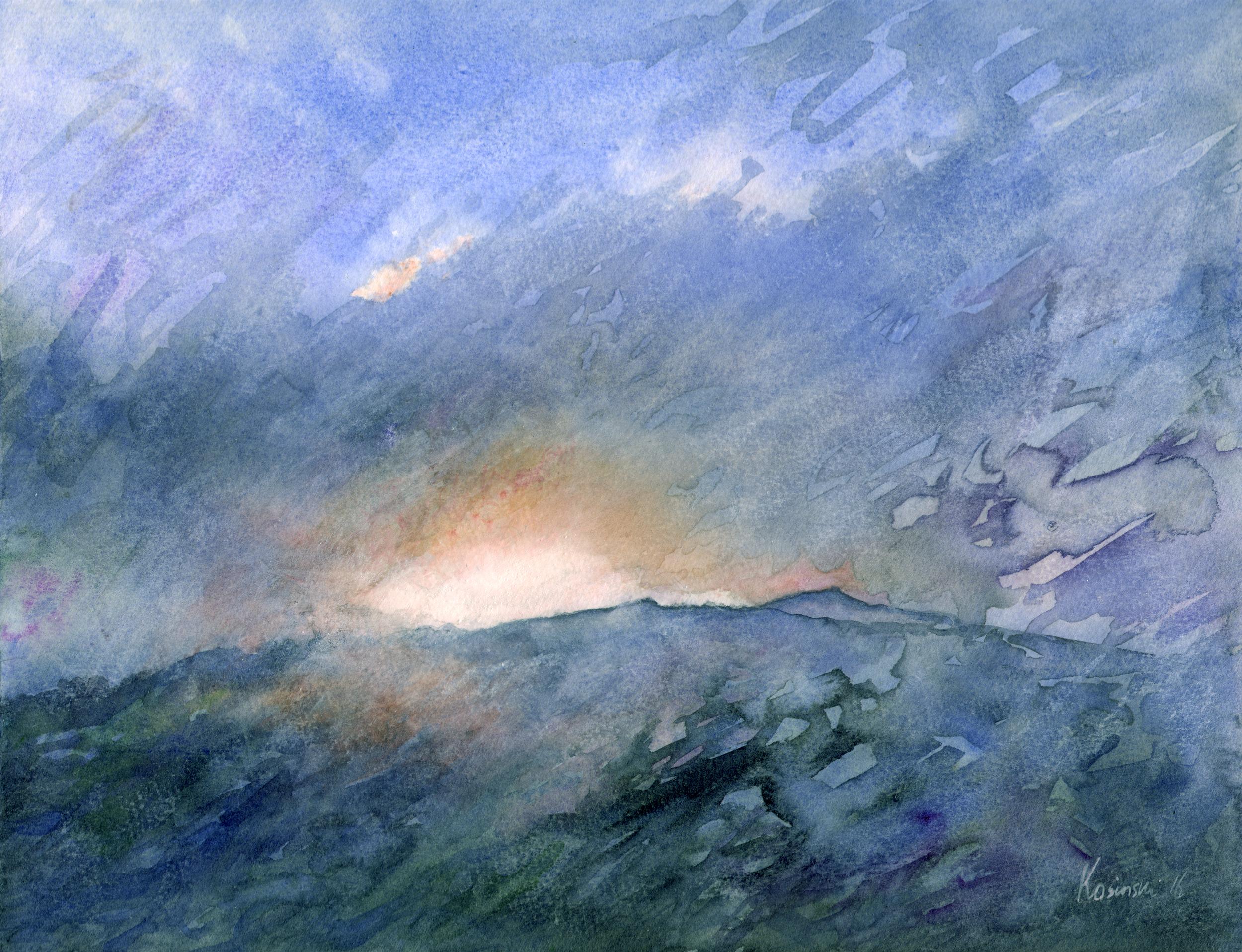 Sunset, Wilburn Ridge, Grayson Highlands