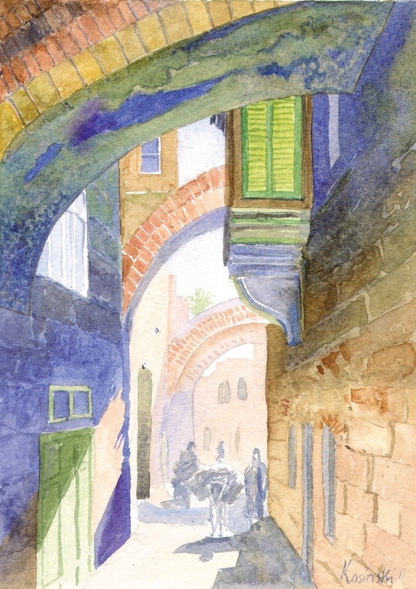 Via Dolorosa, Jerusalem (sold)