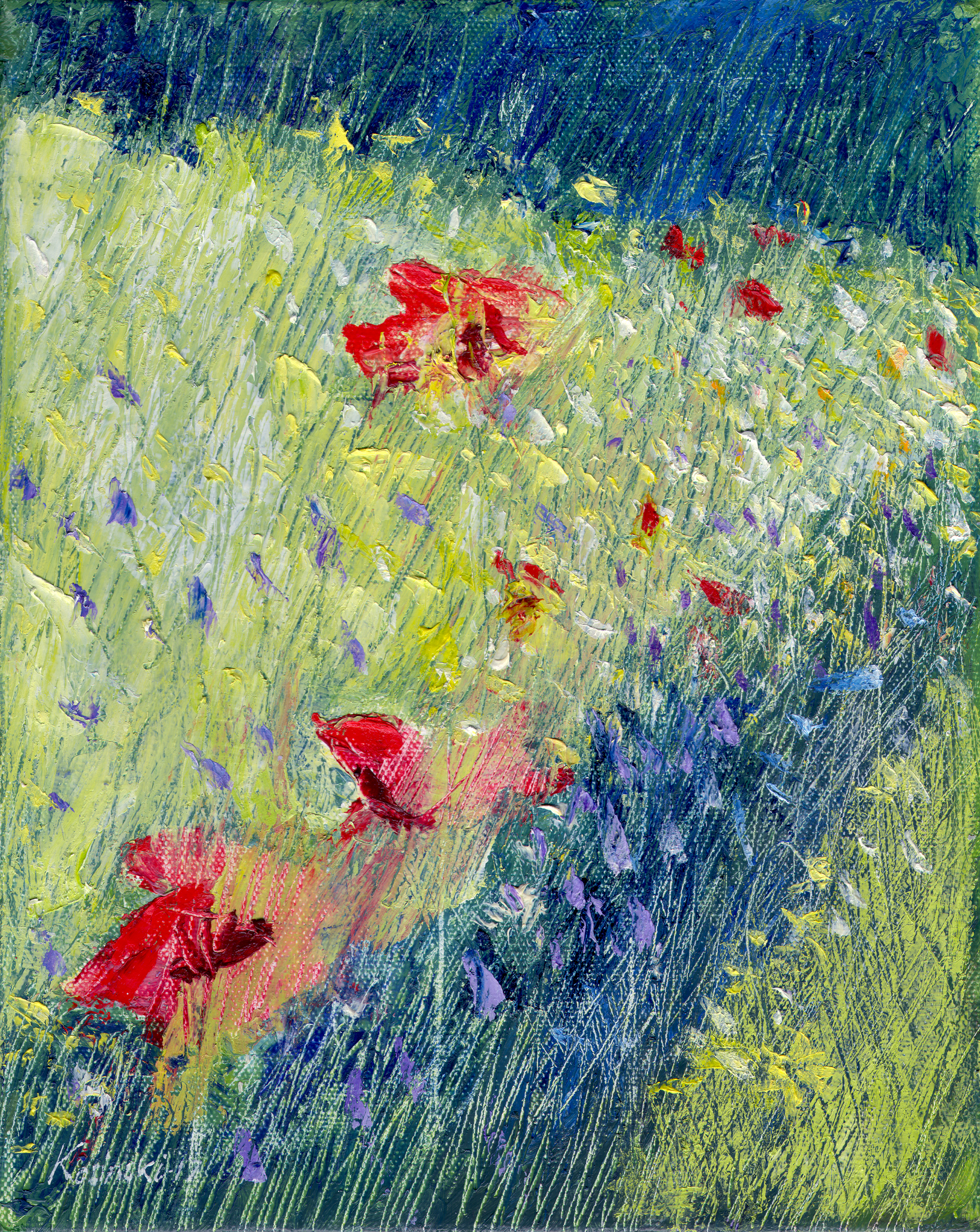 Flowers in My Garden (sold)