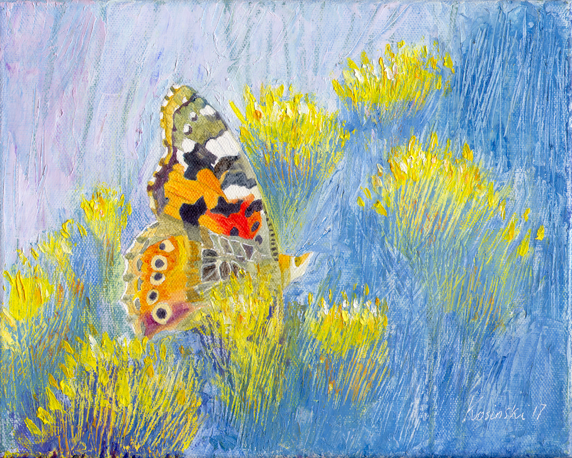 Painted Lady Butterfly (NA)
