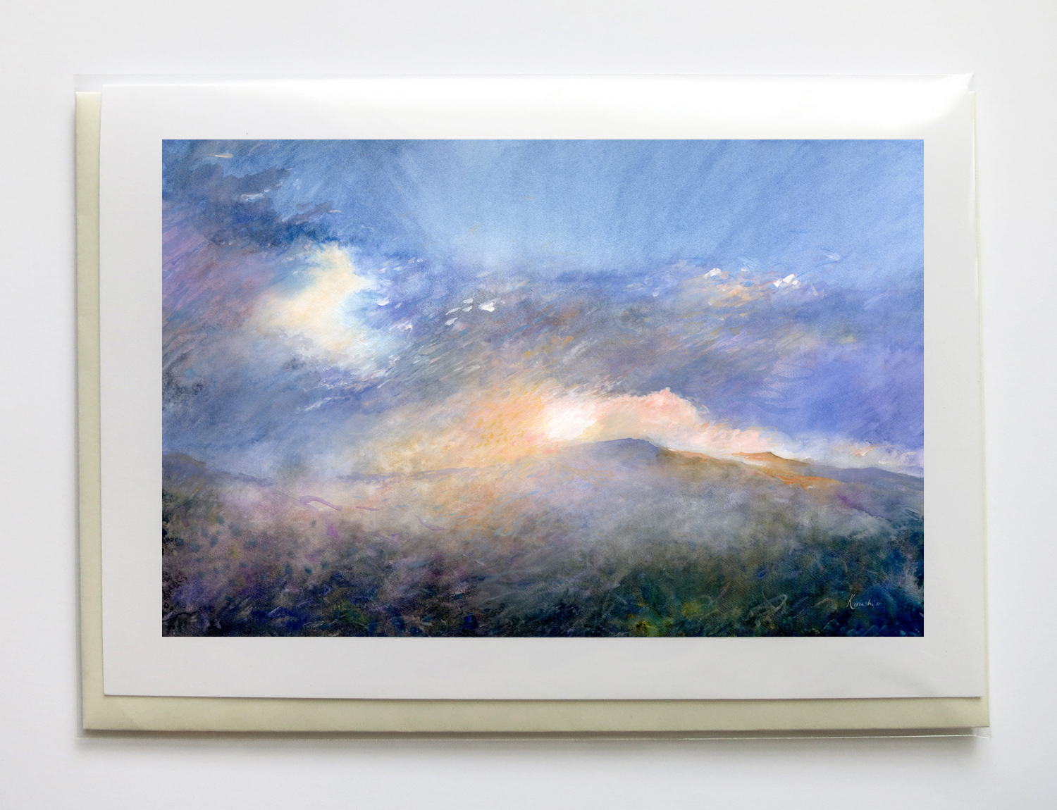 """scenic - 5"""" x 7"""", signed, frame-able, gicleé greeting cards$6.95 each or $25 set of five"""