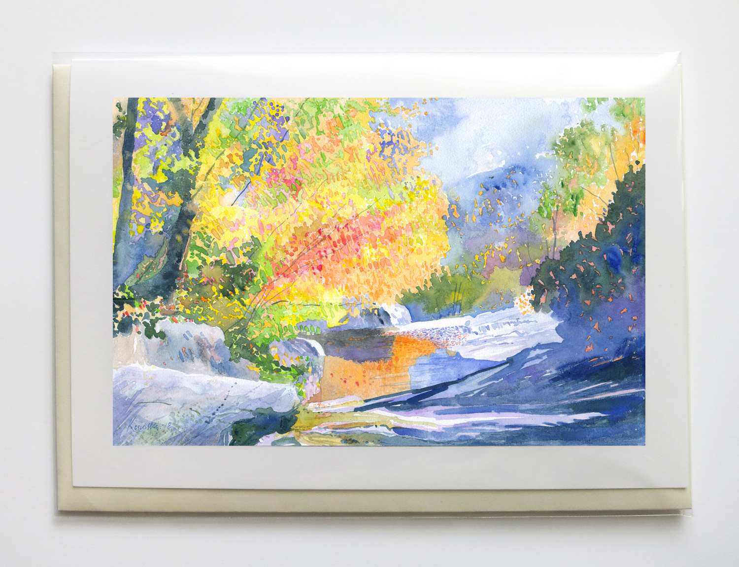 """creEks - 5"""" x 7"""", signed, frame-able, gicleé greeting cards$6.95 each or $25 set of five"""