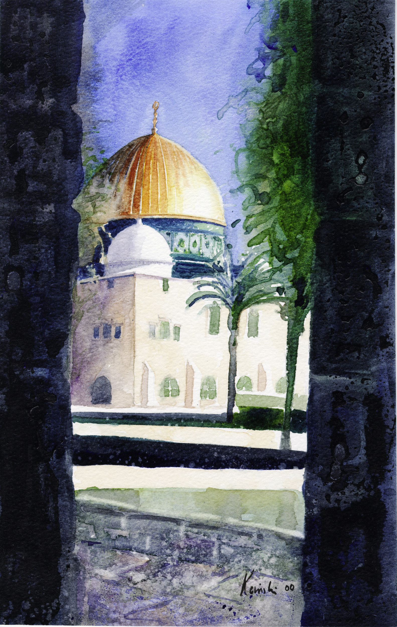 Domes on the Temple Mount