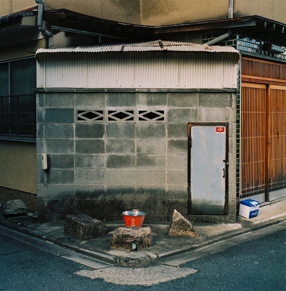 Along the Kamogawa, Shimogyo-ku, Kyoto, Japan, 2012