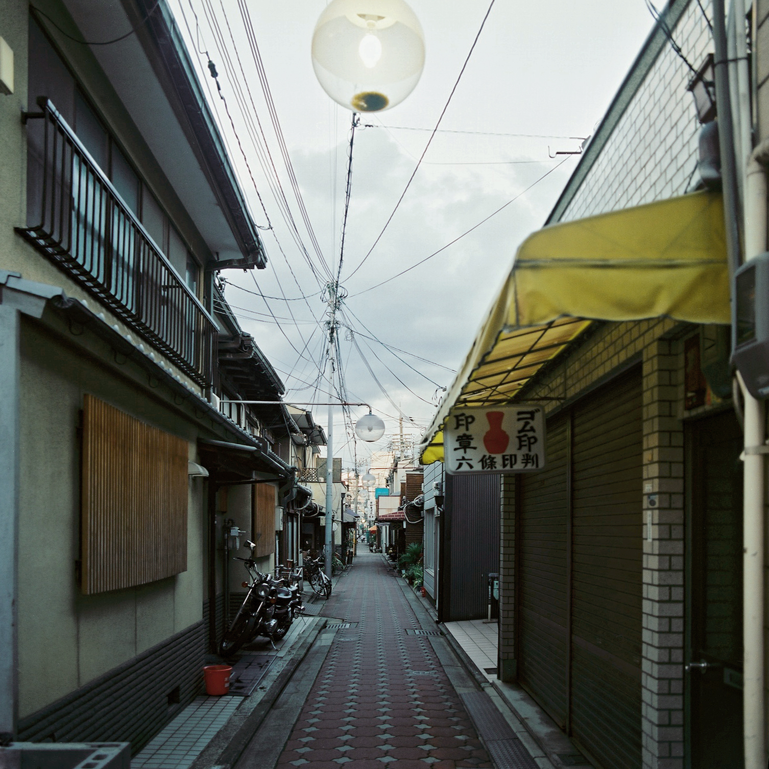 Rokujo-dori, Shimogyo-ku, Kyoto, Japan, 2012