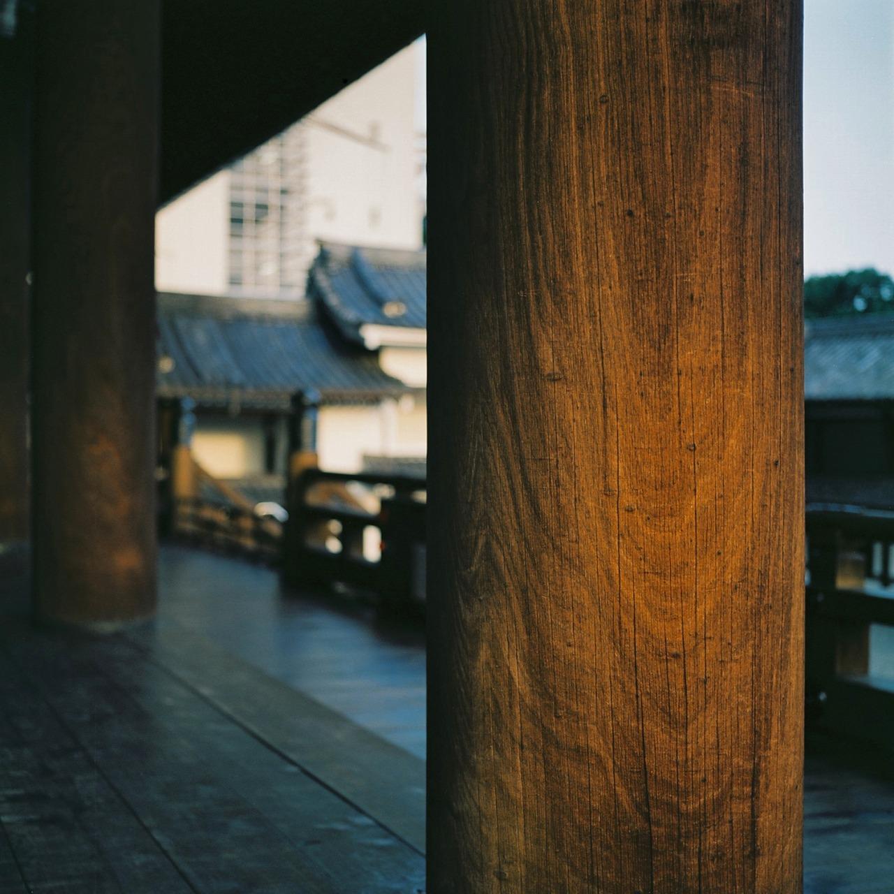 Founders Hall, Higashi Honganji, Shimogyo-ku, Kyoto, Japan 2012