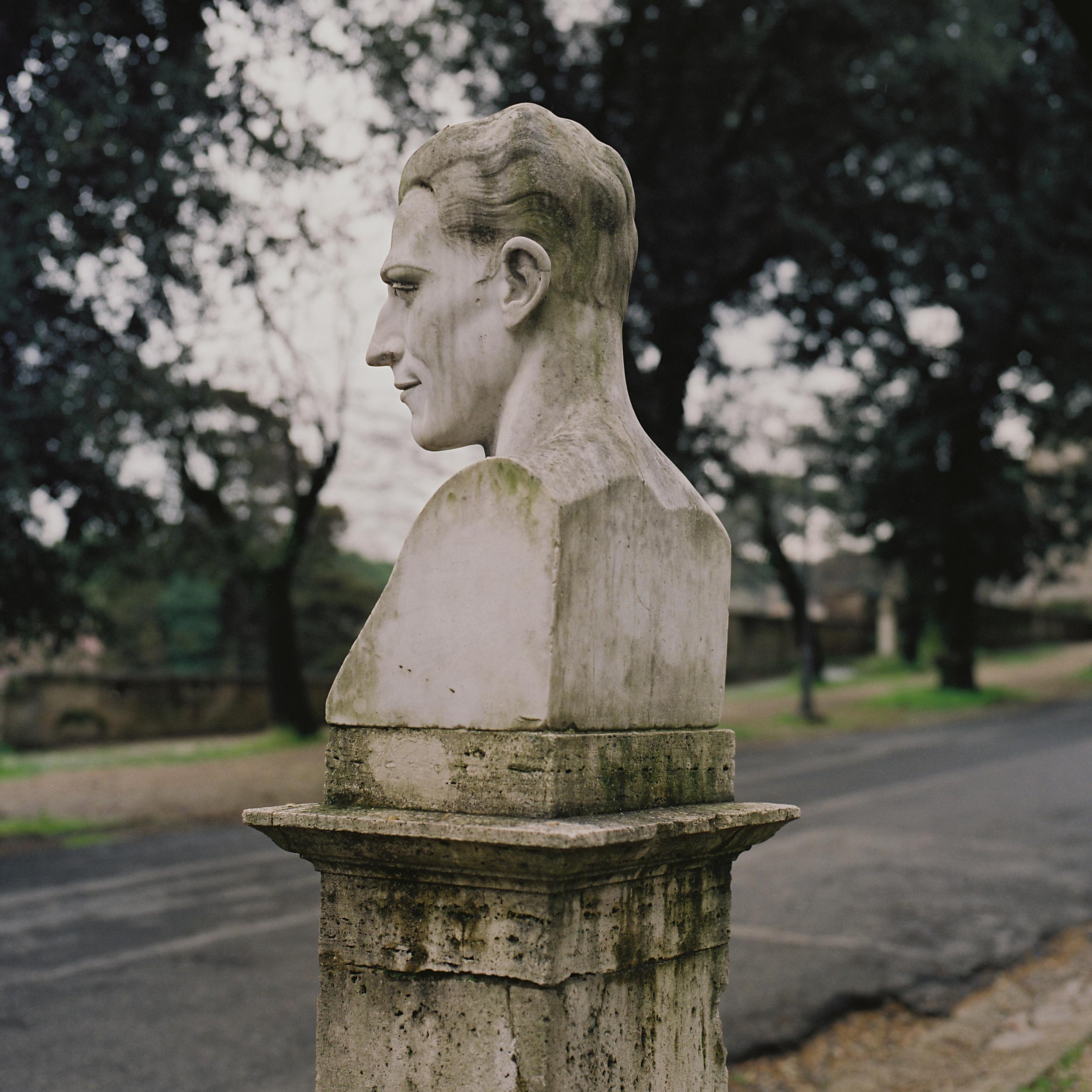 Carlo del Prete, Borghese Gardens, Rome, 2015