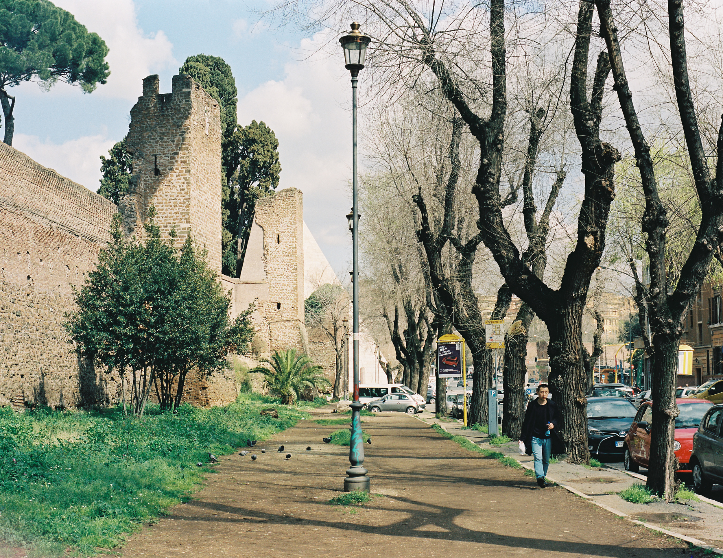 Viale del Campo Boario, Rome, 2015