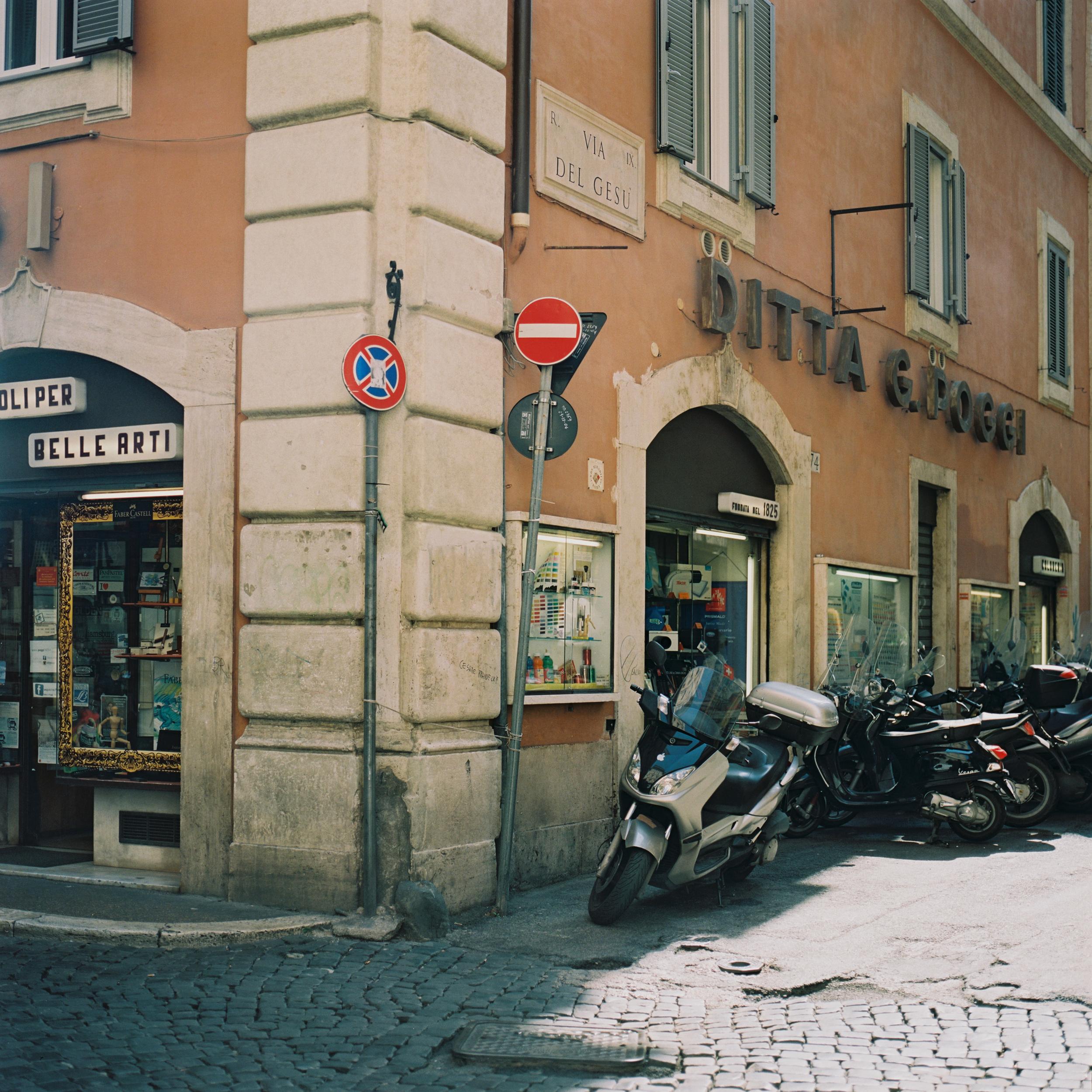 Ditta G. Poggi, Via del Gesù, Rome, 2015