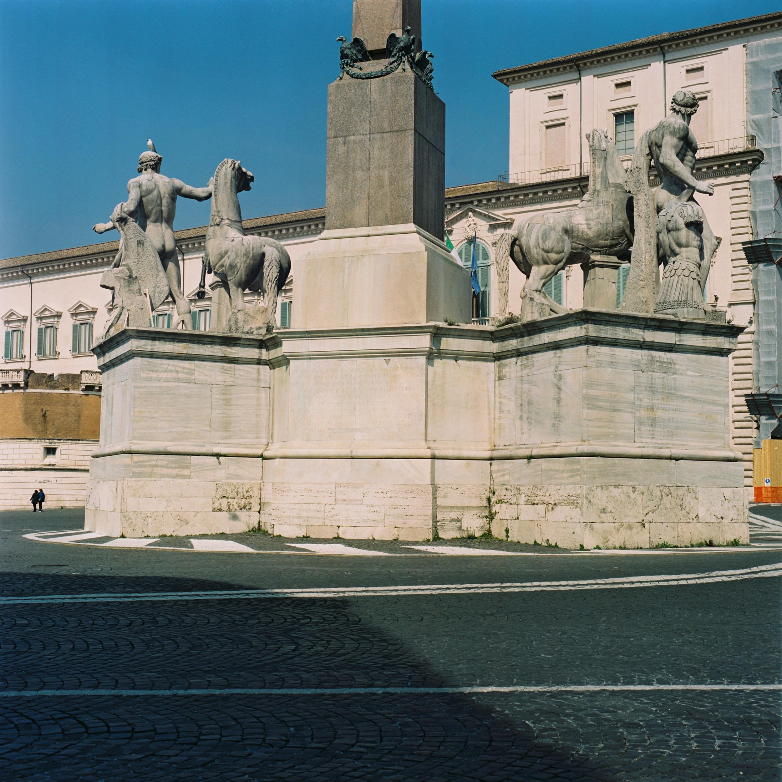 Piazza del Quirinale, Rome, 2015