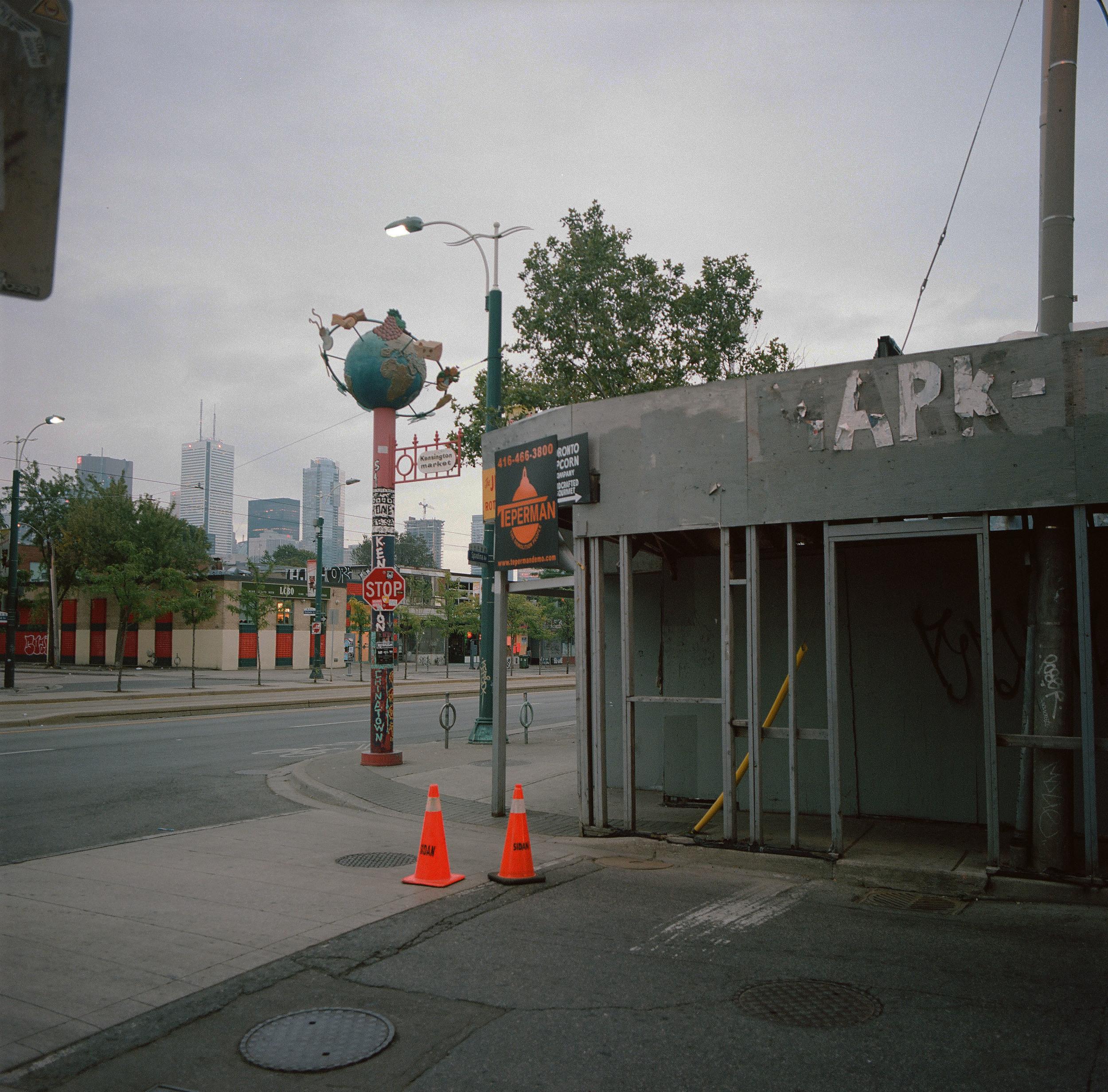 St. Andrew Street at Spadina Avenue, Toronto, Ontario, 2015