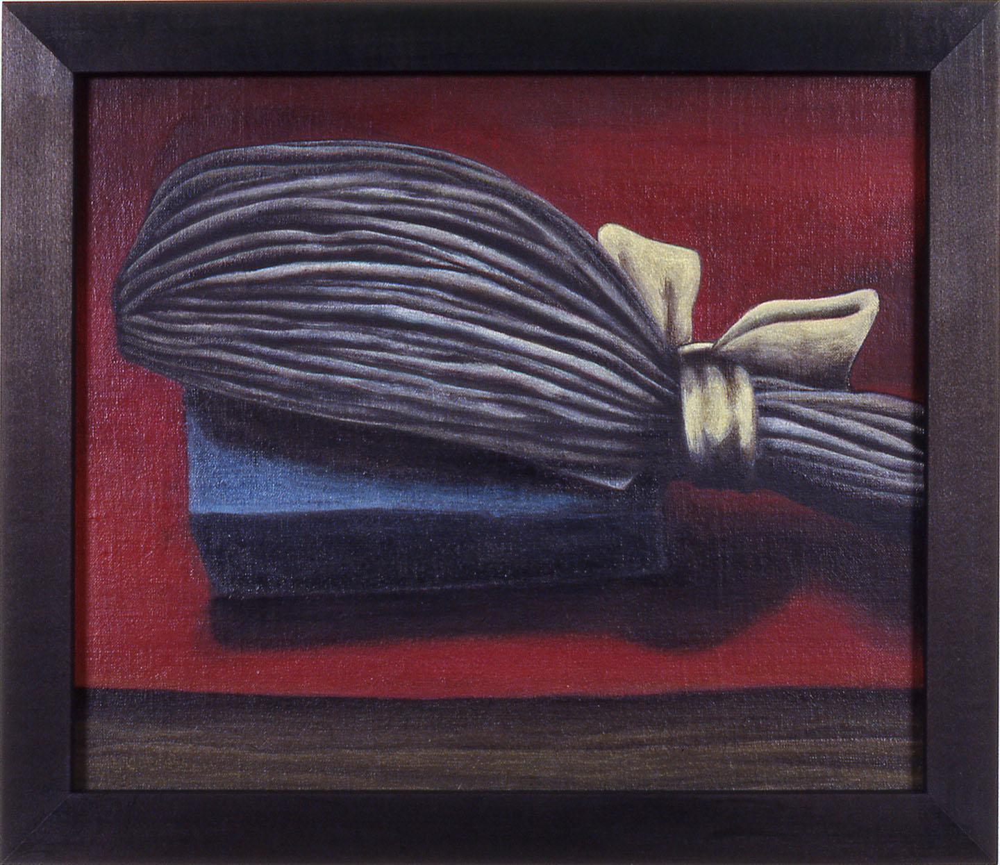 Whig,   1989 Pigment, acrylic polymer, and gesso on linen-mounted panel