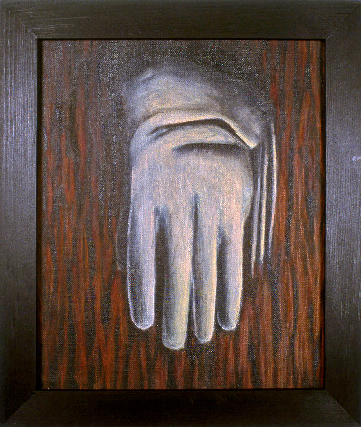 The White Glove,    1987 P igment, acrylic polymer, and gesso on linen-mounted panel
