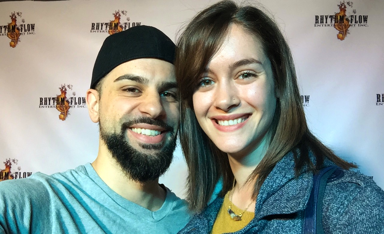 Director Chase Michael Pallante and Production Designer Maggie Stapleton at RHYTHM&FLOW ENTERTAINMENT INC.