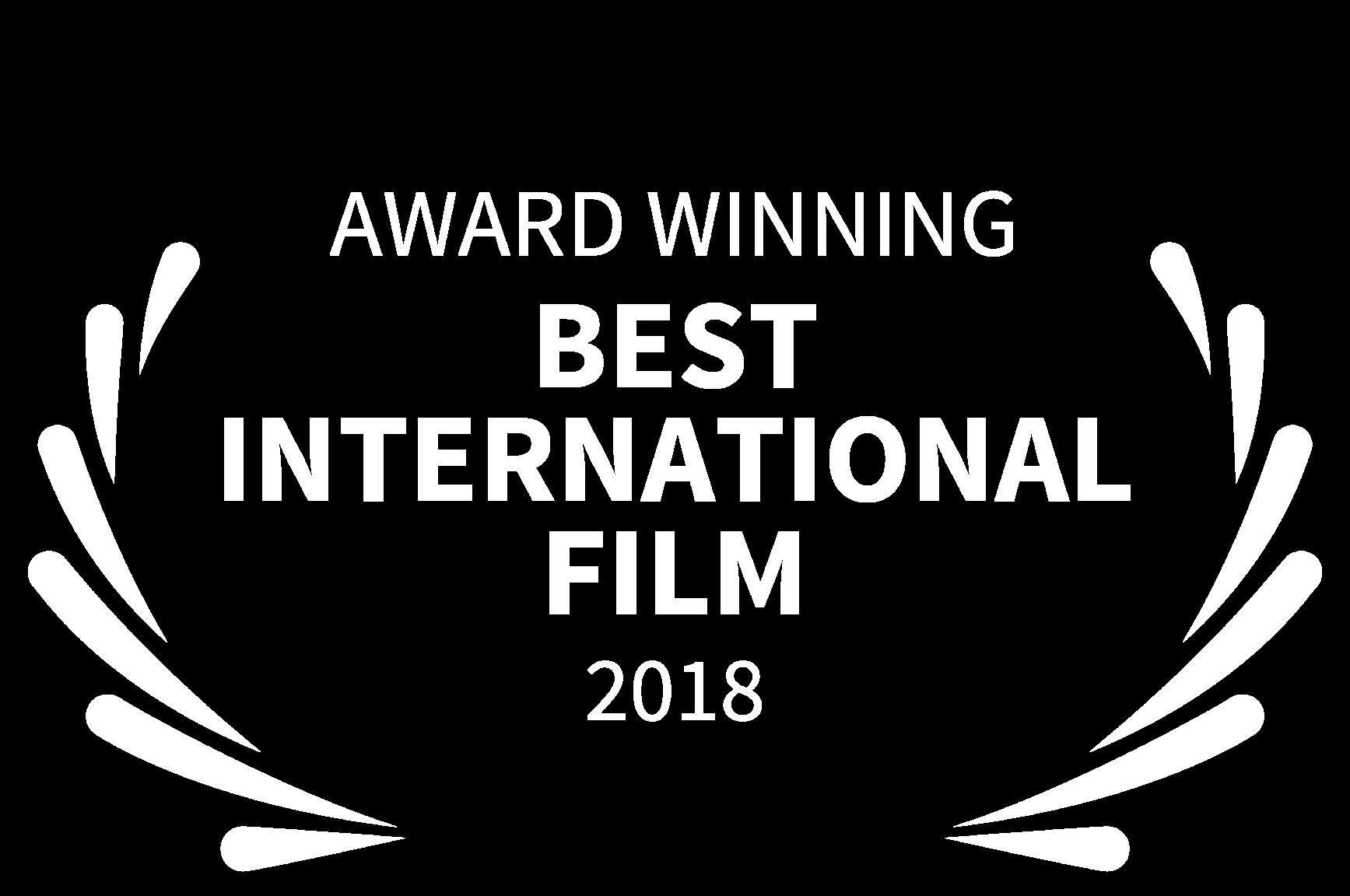 AWARD WINNING - BEST INTERNATIONAL FILM - 2018.png
