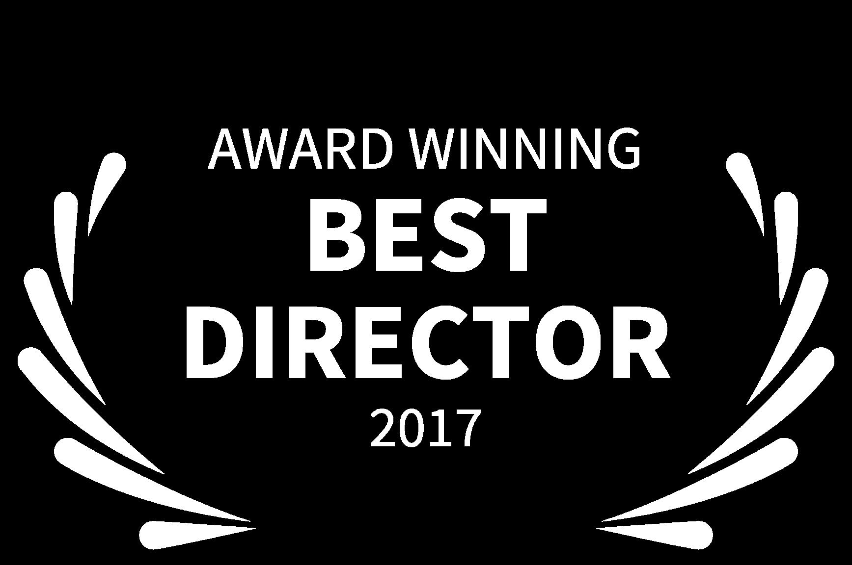 AWARD WINNING - BEST DIRECTOR - 2017.png