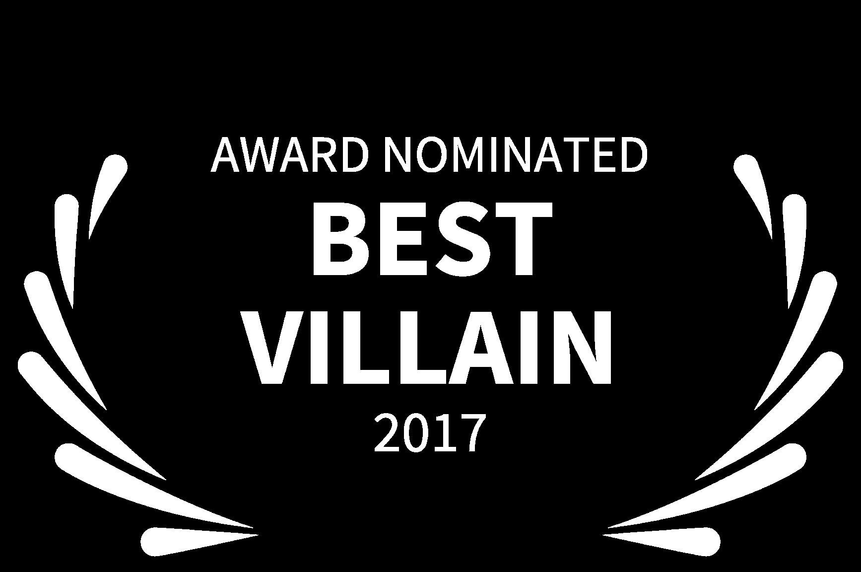 AWARD NOMINATED - BEST VILLAIN - 2017.png