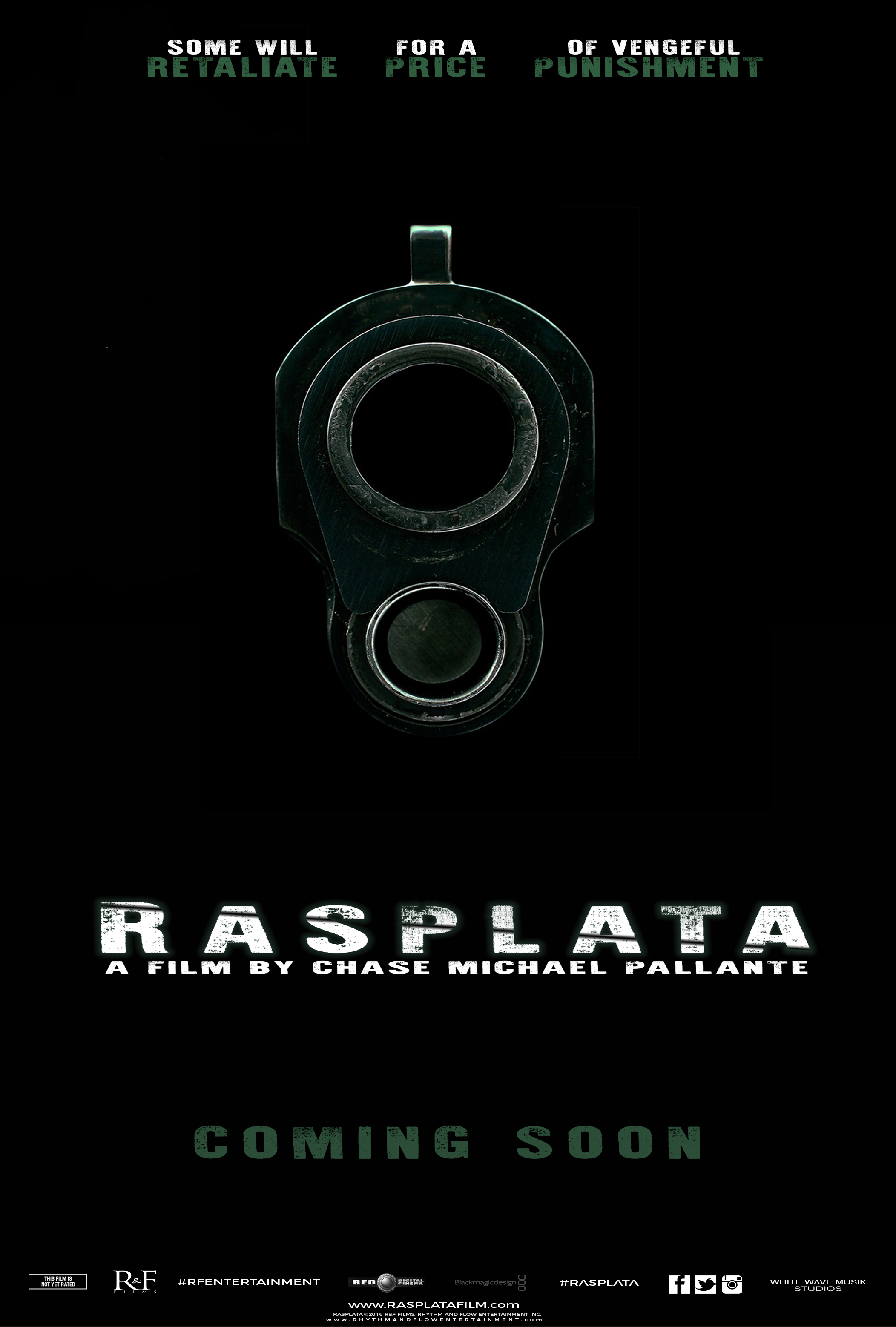 RASPLATA OFFICIAL TEASER MOVIE POSTER RNF RFENTERTAINMENT