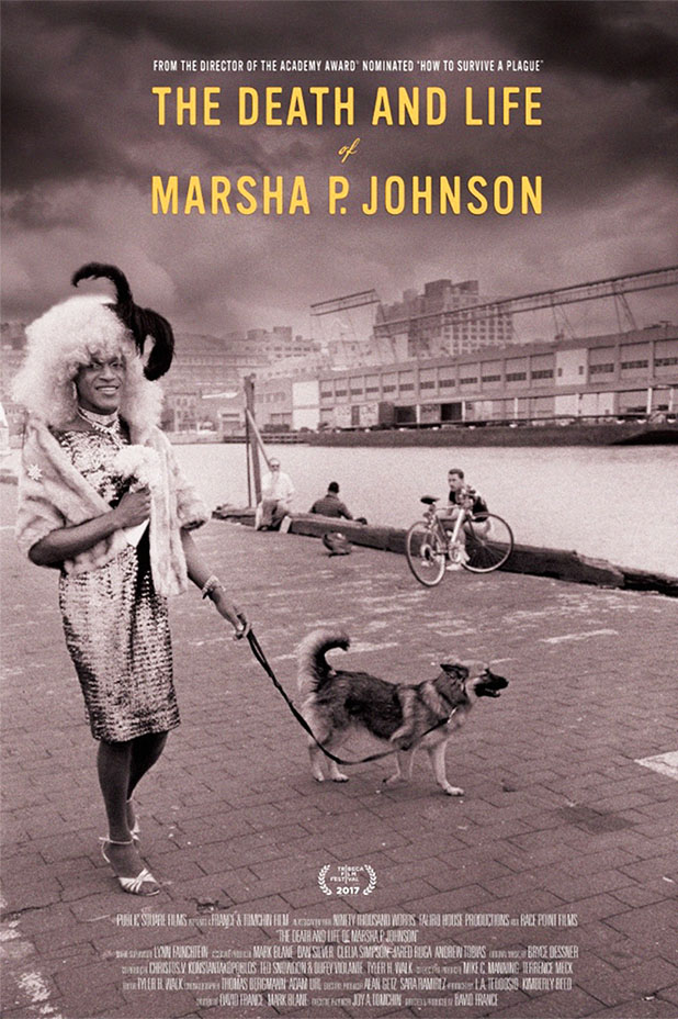 The Death and Life of Marsha P. Johnson Documentary Movie Poster
