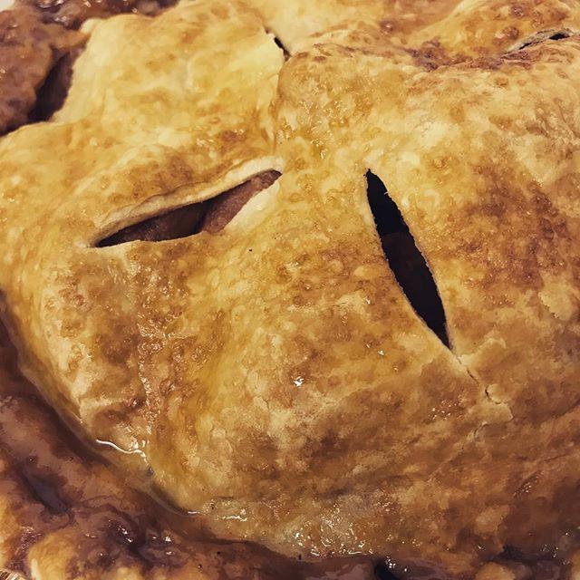Got pie?  #eatlocal #shoplocal #ordernow #whoisbringingthepie