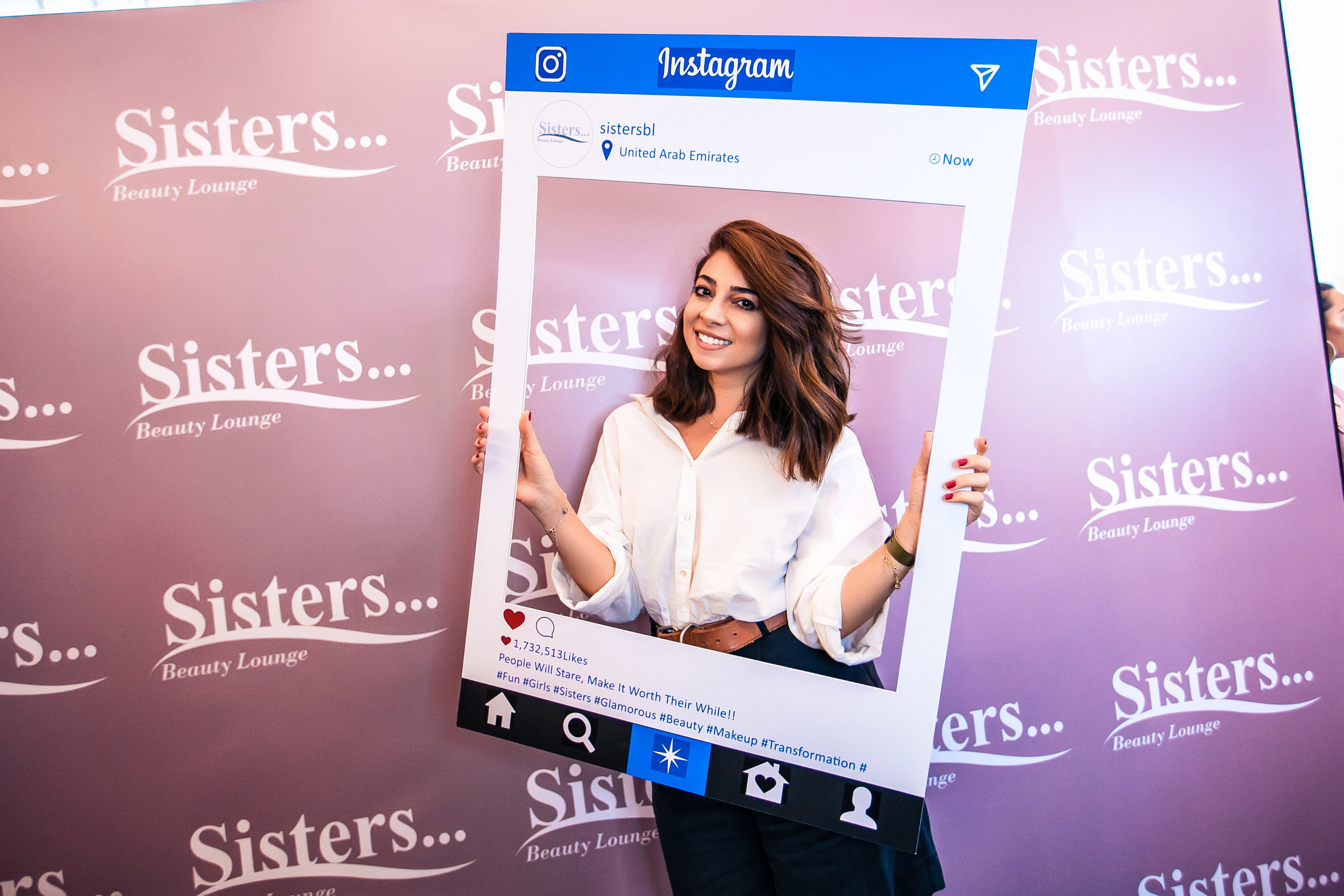 Sisters Beauty Lounge Photobooth