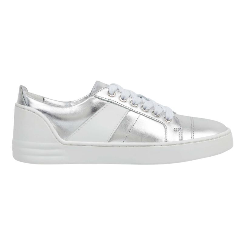 Marc Fisher LTD Candi Sneakers in Silver  | $140
