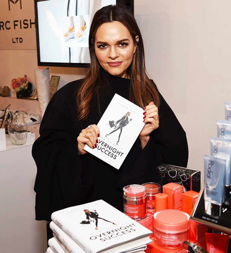 Rodial Beauty founder Maria Hatzistefanis at SIMPLY NYC