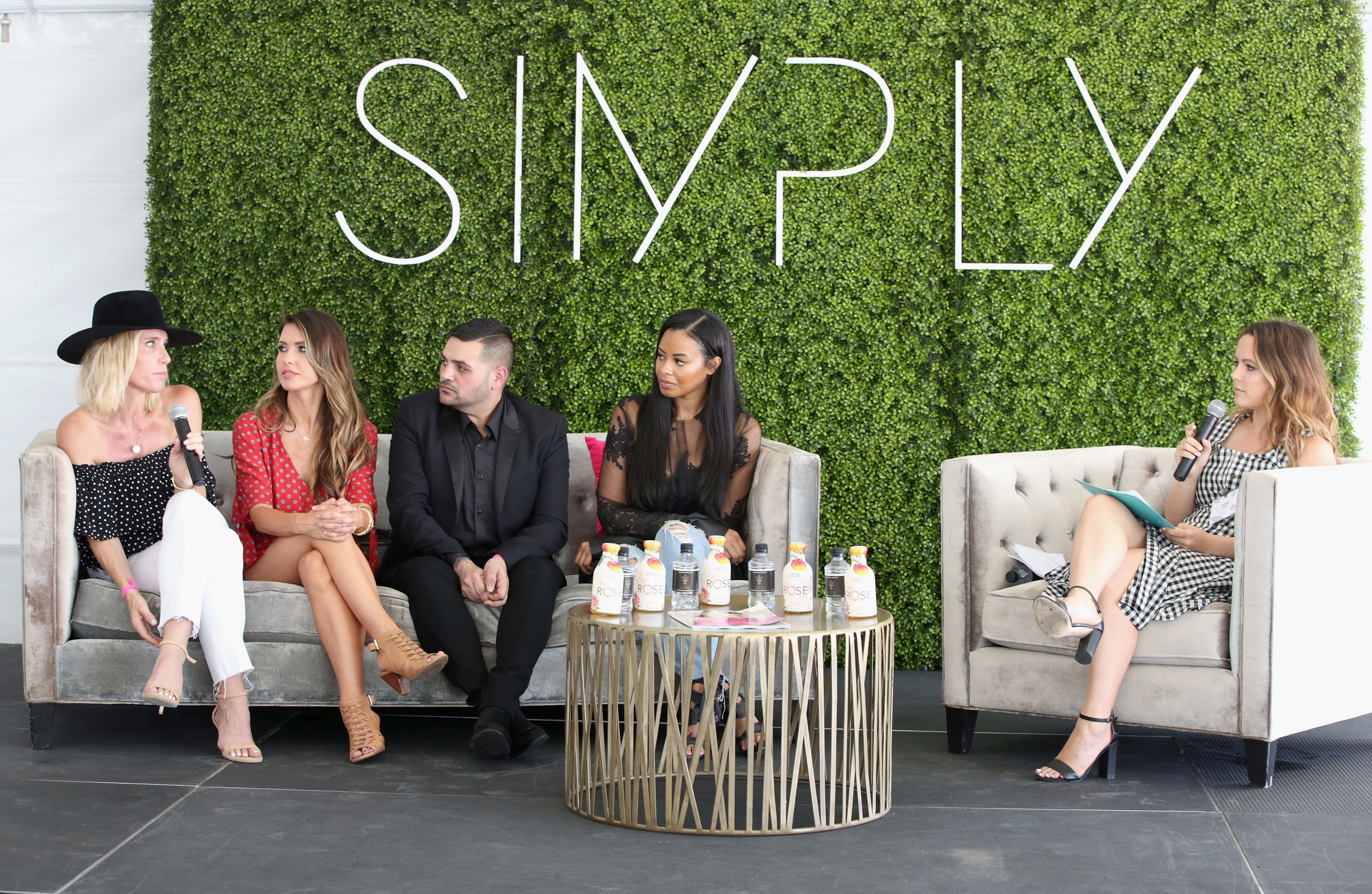 """""""The Art of Wearing 50 Hats In The Fashion & Beauty World"""" Panel at SIMPLY LA 2017"""