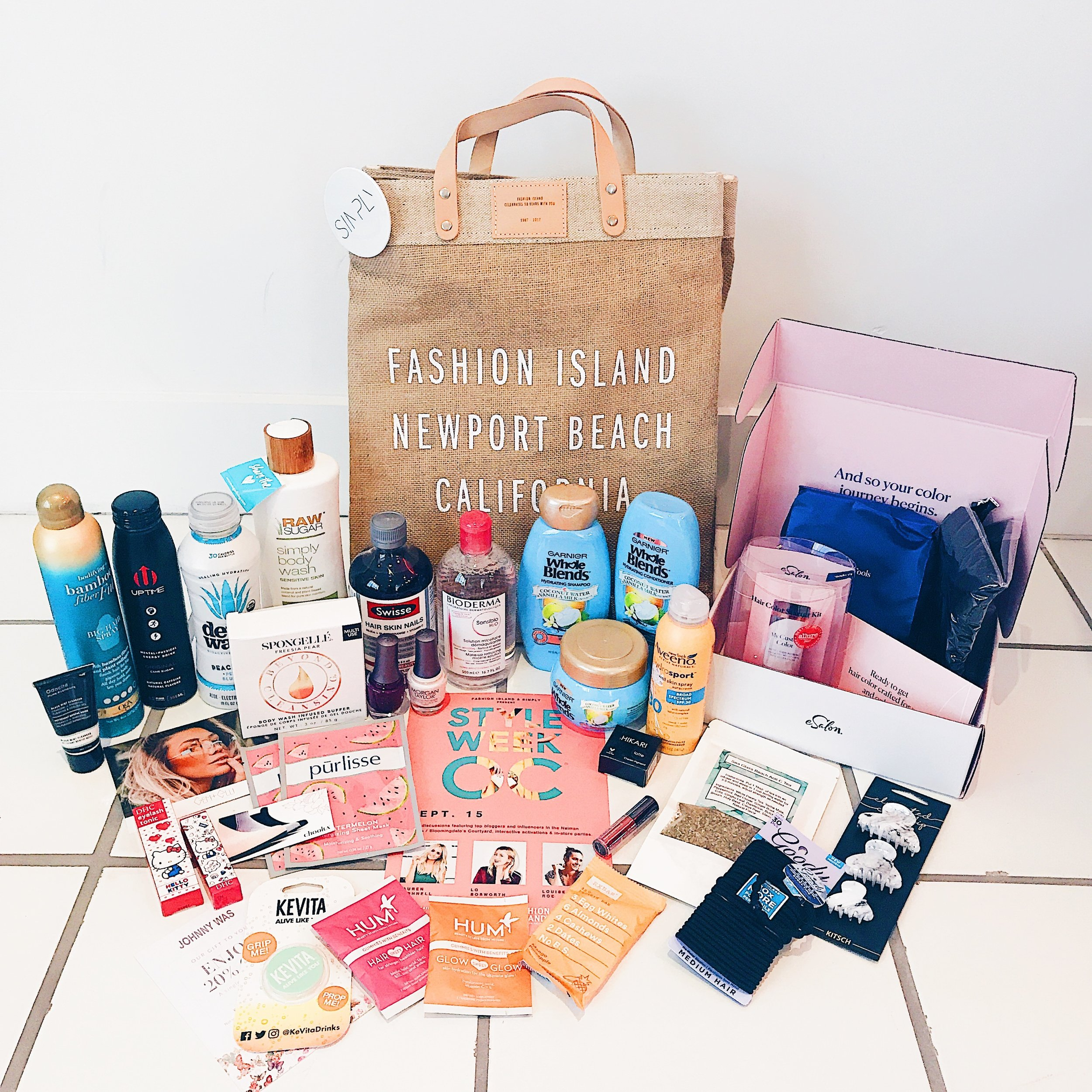 StyleWeekOC Gift Bags