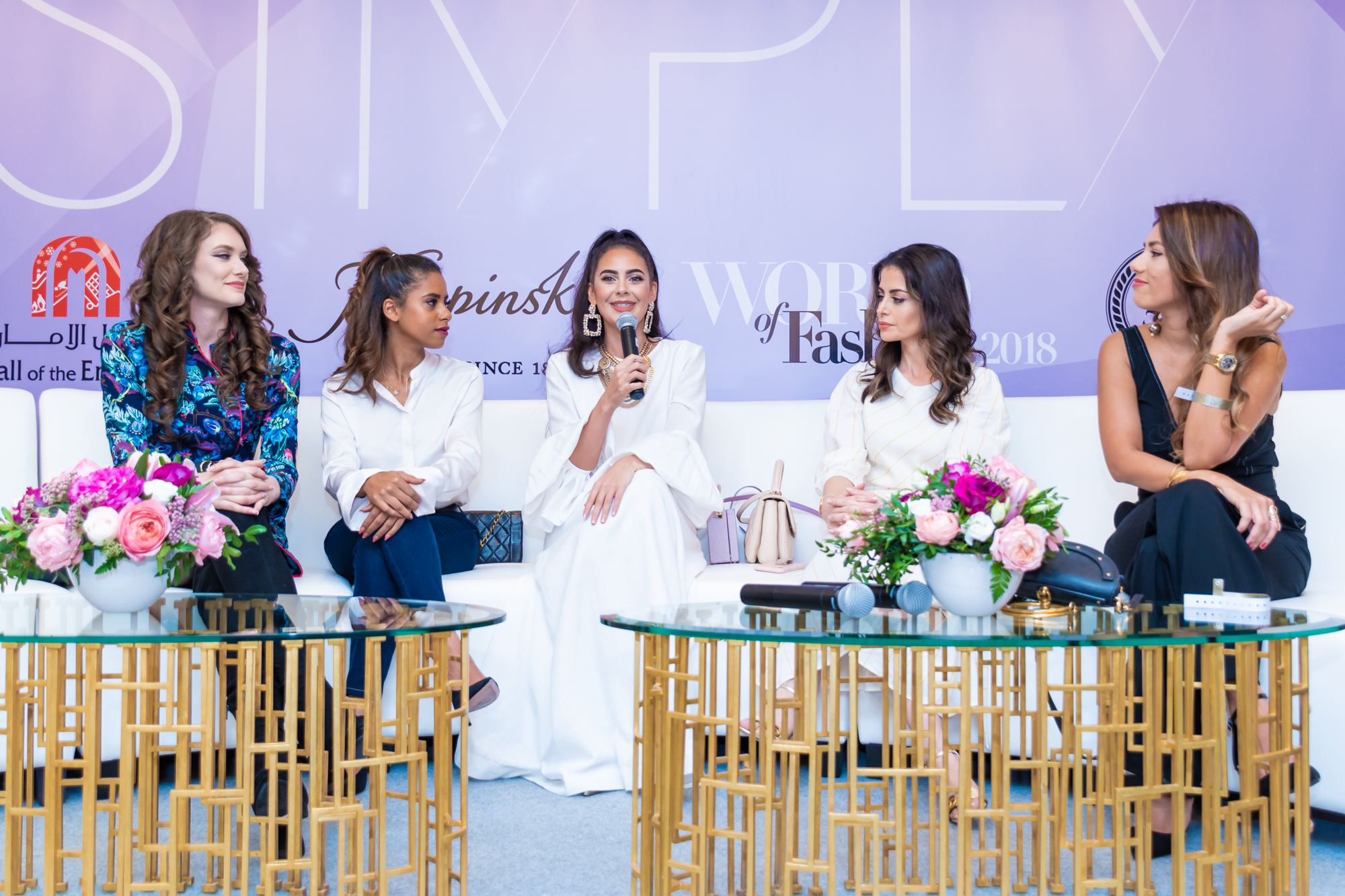 INFLUENCER PANEL  featuring Kelsey Johnson, Nadya Hasan, Tamara Al Gabbani, Nina Ali and Sai Ferrera