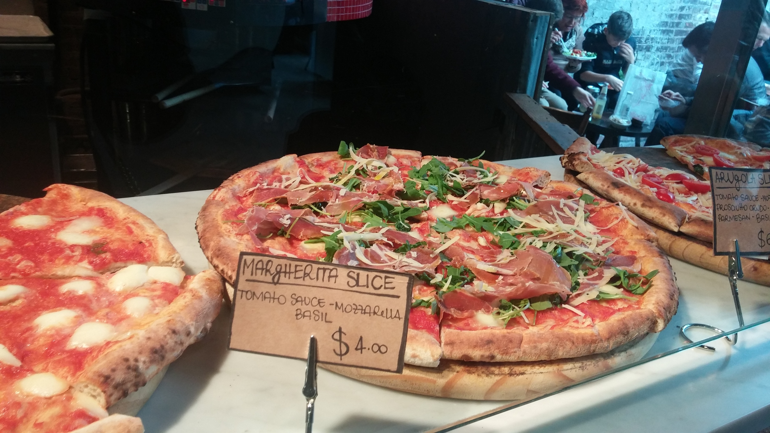 Always stop by Luzzo's- LaPizza Napoletana even if it meanshaving two lunches!