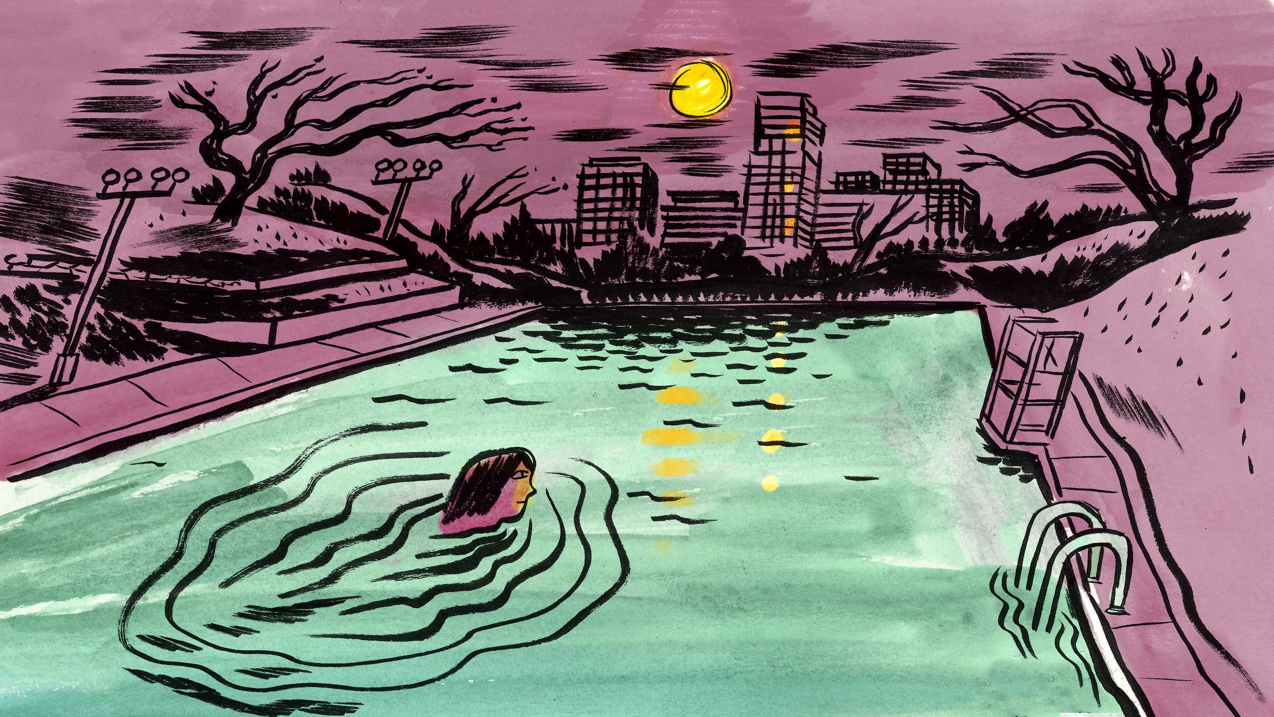 Culture Trip: Barton Springs Howl at the Moon