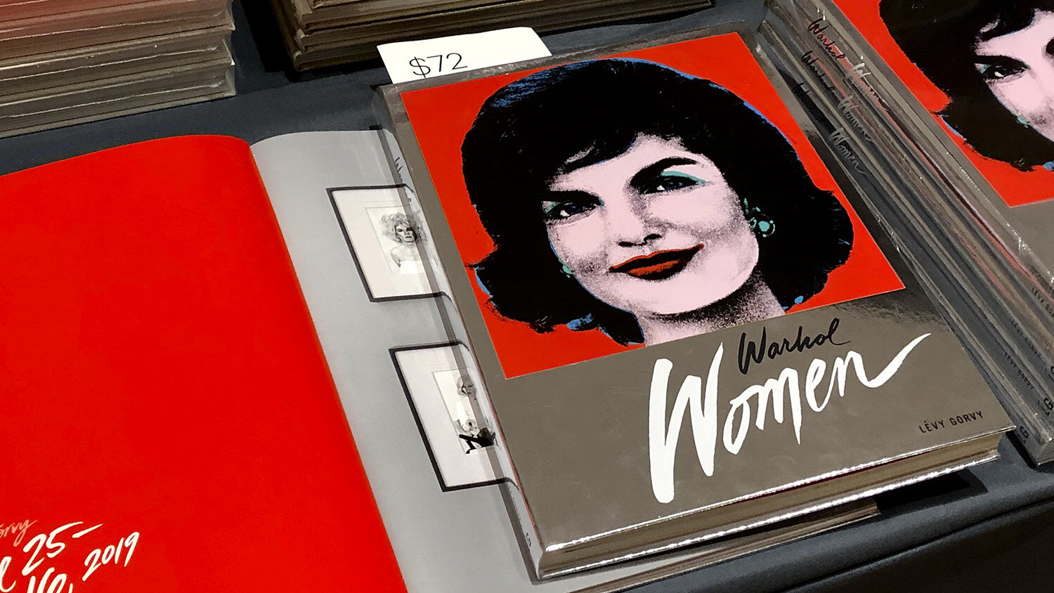 Warhol Women Lettering (Design by McCall Assoc.)
