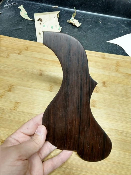 Custom Rosewood Pickguard