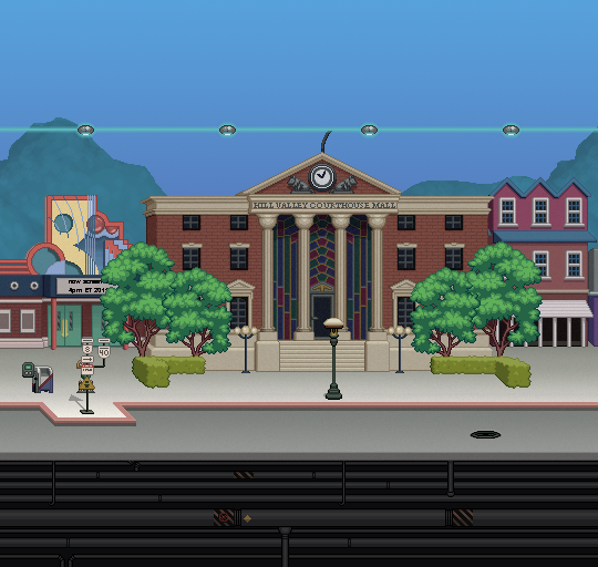 Hill Valley Clock Tower