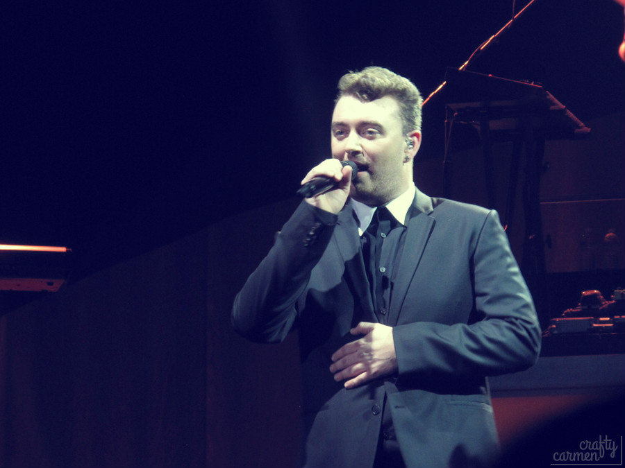 "Sam Smith ""In The Lonely Hour"" Tour in San Francisco, CA 